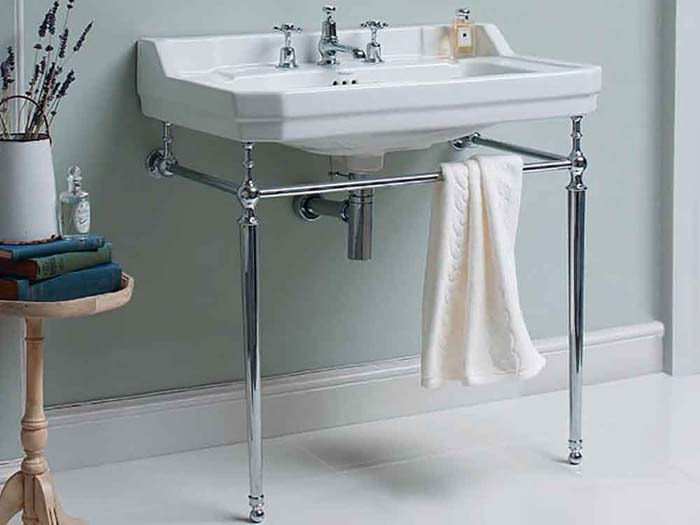 Chrome Washstand