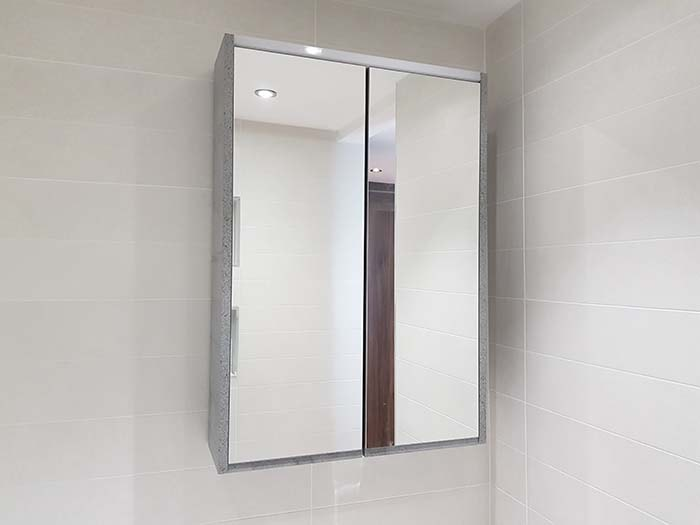 Utopia Halo Mirror Cabinet